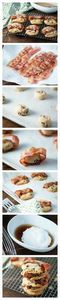 Take your favorite #cookie to the  - 300 Delicious Bacon Recipes - RecipePin.com