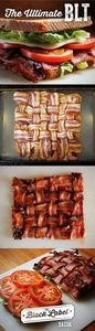 This is how you bacon weave. | Bac - 300 Delicious Bacon Recipes - RecipePin.com