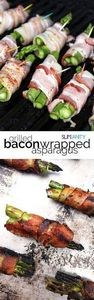 Grilled bacon-wrapped asparagus -  - 300 Delicious Bacon Recipes - RecipePin.com