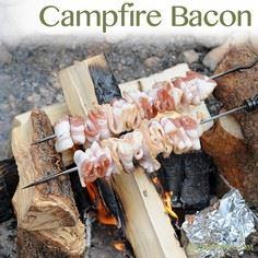 Campfire Bacon is seriously the be - 300 Delicious Bacon Recipes - RecipePin.com