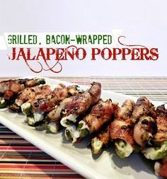 Grilled Bacon Wrapped Jalapeno Pop - 300 Delicious Bacon Recipes - RecipePin.com
