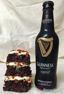 Guinness Bacon Brownies! - 300 Delicious Bacon Recipes - RecipePin.com