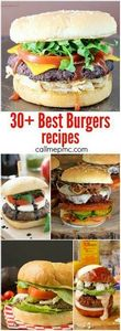 30+ Best New Burger Recipes - 275 Beef Recipes - RecipePin.com