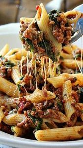 Slow Cooker Beef and Cheese Pasta  - 275 Beef Recipes - RecipePin.com