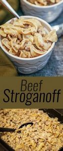 simple and easy Beef Stroganoff re - 275 Beef Recipes - RecipePin.com