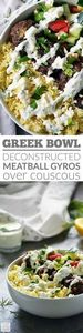 My Greek Bowl is an easy beef reci - 275 Beef Recipes - RecipePin.com