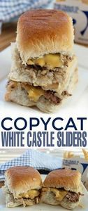 Copycat White Castle Sliders that  - 275 Beef Recipes - RecipePin.com
