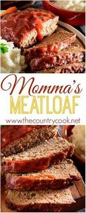 Momma's *BEST* Meatloaf. Moist, fl - 275 Beef Recipes - RecipePin.com