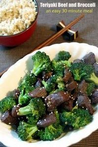 30 Minute Meals: Teriyaki Beef and - 275 Beef Recipes - RecipePin.com