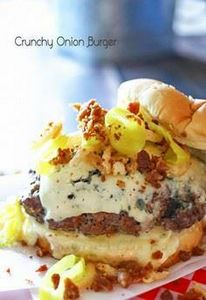 Crunchy Onion Burger : Easy Family - 275 Beef Recipes - RecipePin.com