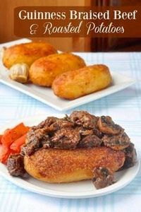Guinness Braised Beef and Roast Po - 275 Beef Recipes - RecipePin.com