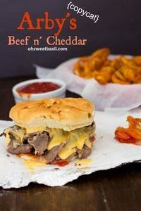 Arby's Beef n Cheddar Copycat - 275 Beef Recipes - RecipePin.com