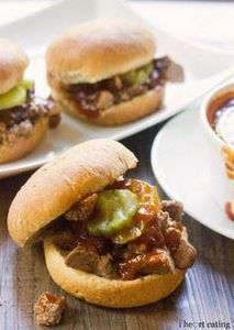 Dr Pepper Brisket Sliders  with Dr - 275 Beef Recipes - RecipePin.com