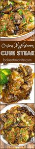 Seared mushrooms and onions give t - 275 Beef Recipes - RecipePin.com