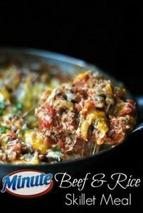 Beef & Rice Skillet Meal | Gre - 275 Beef Recipes - RecipePin.com