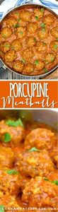 Old Fashioned Porcupine Meatball R - 275 Beef Recipes - RecipePin.com
