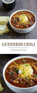 Guinness® Chili is perfect for St. - 275 Beef Recipes - RecipePin.com