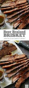 Beer Braised Beef Brisket | by Lif - 275 Beef Recipes - RecipePin.com