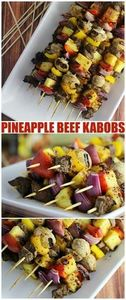 These Pineapple Tamarind Beef Kabo - 275 Beef Recipes - RecipePin.com