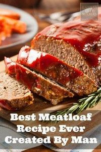 Quick Easy Meatloaf Recipe -- this - 275 Beef Recipes - RecipePin.com