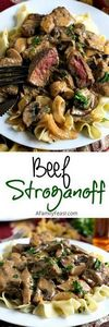 Beef Stroganoff prepared the way i - 275 Beef Recipes - RecipePin.com