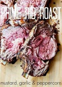 Standing Rib Roast (aka Prime Rib) - 275 Beef Recipes - RecipePin.com