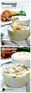 Baked Cheesesteak Soup! Loaded wit - 275 Beef Recipes - RecipePin.com