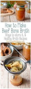 Nourishing and good for you, bone  - 275 Beef Recipes - RecipePin.com