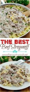 The Best Beef Stroganoff recipe sh - 275 Beef Recipes - RecipePin.com