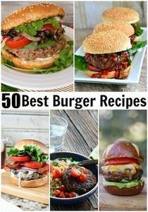 Best Burger Recipes collection- 50 - 275 Beef Recipes - RecipePin.com