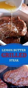 Lemon Butter Grilled Steak-Creole  - 275 Beef Recipes - RecipePin.com