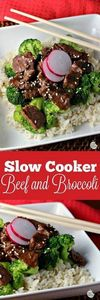 Slow Cooker Beef and Broccoli | by - 275 Beef Recipes - RecipePin.com