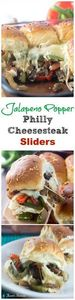 Jalapeno Popper Philly Cheesesteak - 275 Beef Recipes - RecipePin.com