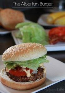 The Albertan Burger - 275 Beef Recipes - RecipePin.com