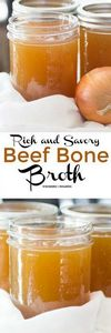 Rich and Savory Beef Bone Broth by - 275 Beef Recipes - RecipePin.com