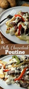 Philly Cheesesteak Poutine | by Re - 275 Beef Recipes - RecipePin.com