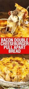 Bacon Double Cheeseburger Pull Apa - 275 Beef Recipes - RecipePin.com