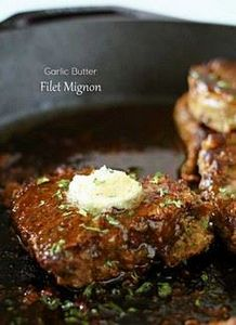 Garlic Butter Filet Mignon - Smoth - 275 Beef Recipes - RecipePin.com