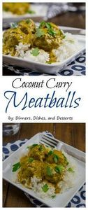 Coconut Curry Meatballs - Tender m - 275 Beef Recipes - RecipePin.com