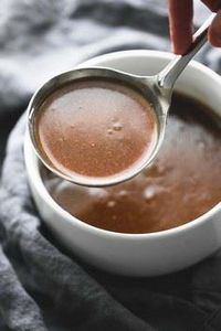 Beef Broth Brown Gravy - simple 5  - 275 Beef Recipes - RecipePin.com