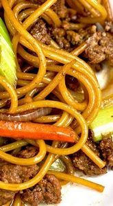 Ground Beef Lo Mein - 275 Beef Recipes - RecipePin.com