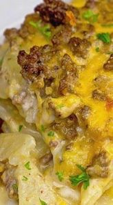 Cheesy Beef & Potatoes Cassero - 275 Beef Recipes - RecipePin.com