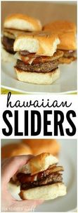Delicious Hawaiian Hamburger Slide - 275 Beef Recipes - RecipePin.com