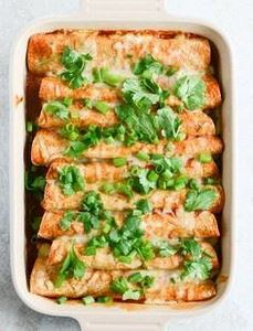 Lightened Up #Beef #Enchiladas wit
