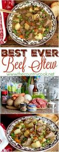 Best Ever Beef Stew recipe from Th - 275 Beef Recipes - RecipePin.com