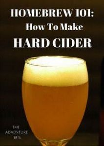 How To Make Hard Apple Cider. Tuto - 100 Beer And Alcohol Recipes - RecipePin.com