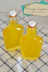 homemade orange liqueur - 100 Beer And Alcohol Recipes - RecipePin.com
