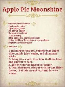 Apple Pie Moonshine at home (with  - 100 Beer And Alcohol Recipes - RecipePin.com