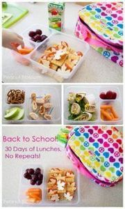 Back to School: 30 Days of Lunchbo - 300 Bento Box Recipes - RecipePin.com
