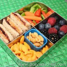 Healthy Kids School Lunch - So sim - 300 Bento Box Recipes - RecipePin.com